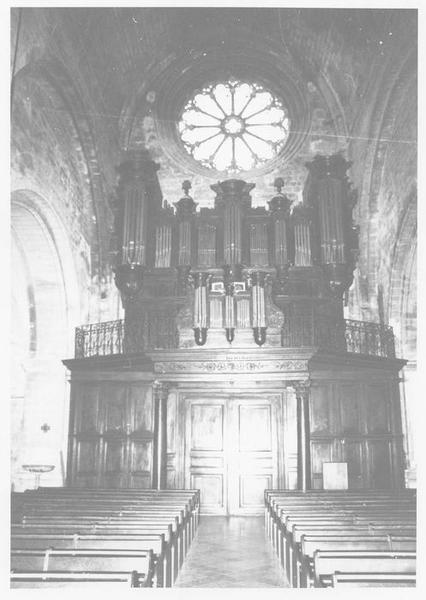 Buffet de l'orgue de tribune