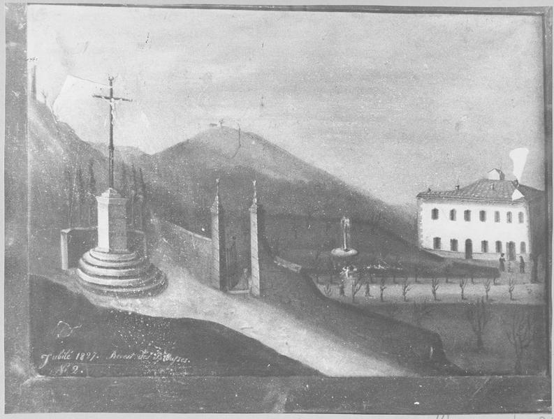 tableau : la croix du jubilé de 1827