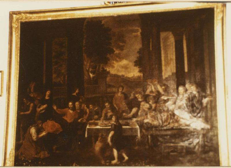 tableau : Christ chez Simon