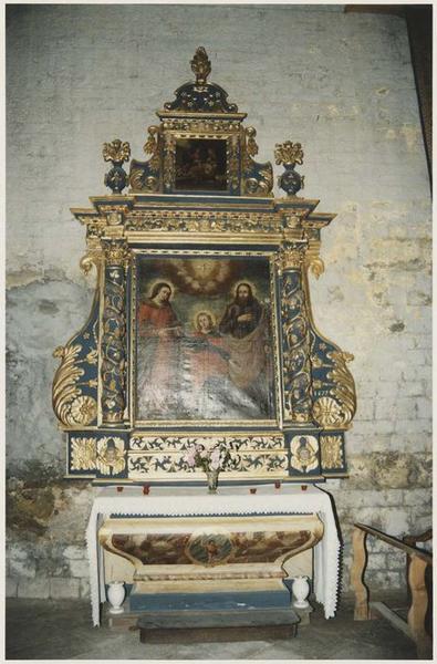 Retable de saint Joseph, tableau : Sainte Famille