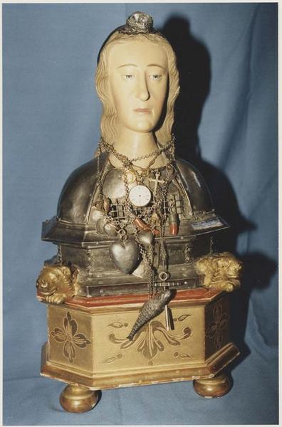 buste-reliquaire : Sainte Victoire
