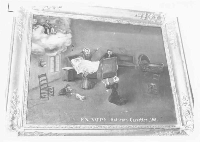 ex-voto: Saturnin Carretier 1861