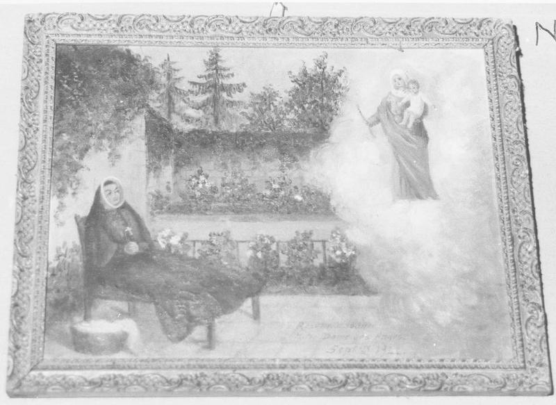 ex-voto: Notre Dame des Anges 1944
