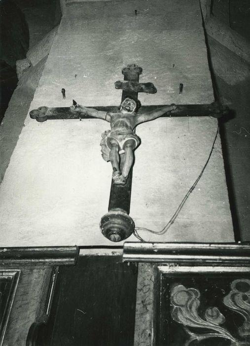 Croix (crucifix) ou extrémité de croix de procession