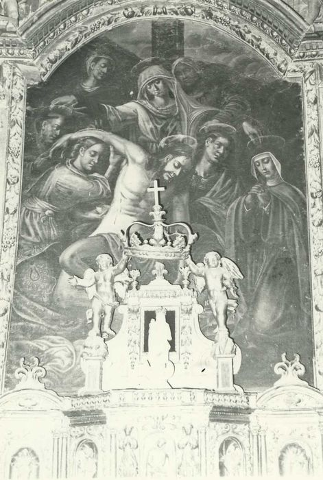 Tableau : Descente de croix