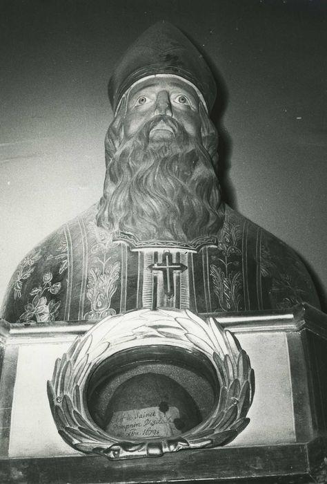 Buste-reliquaire : Saint Domnin