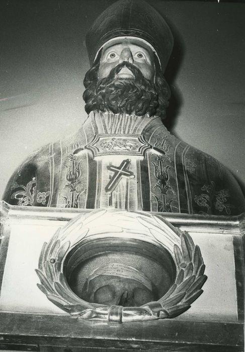 Buste-reliquaire : Saint Vincent