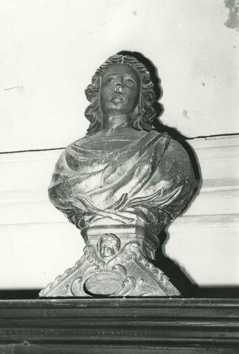 Deux bustes-reliquaires : Saint Jean (?)