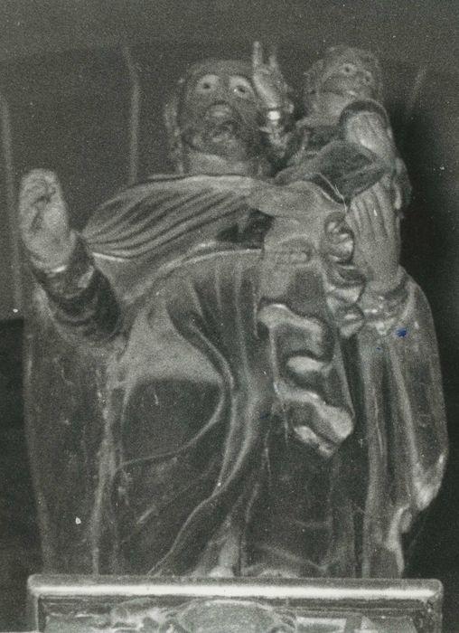 Statue : Saint Joseph portant l'Enfant
