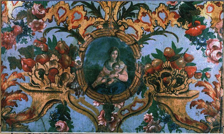 Antependium : Vierge à l'Enfant, détail
