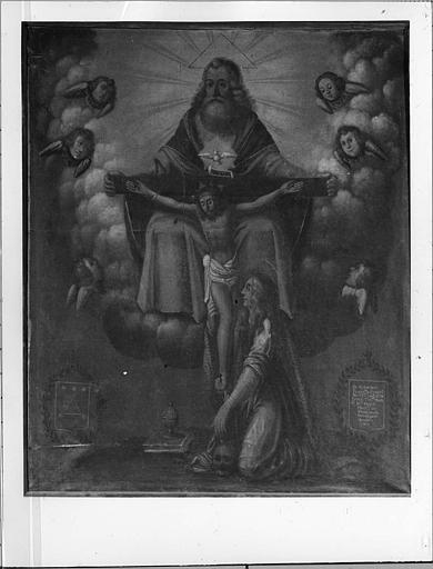Tableau : La Trinité avec sainte Marie-Madeleine