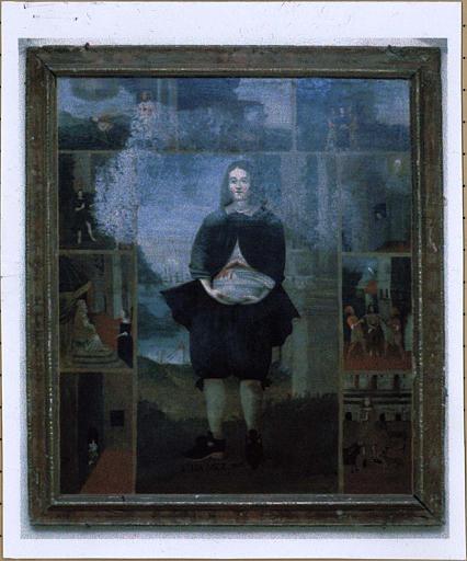 Tableau : Saint Mammès et scènes de sa vie