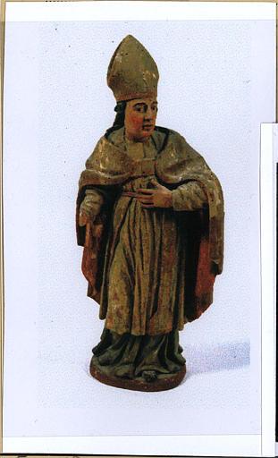 Tabernacle à gradins, détail du saint Marcellin