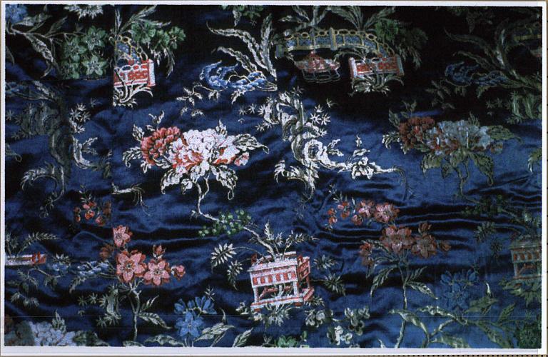 Chasuble, détail du motif décoratif