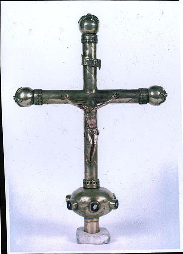 croix de procession, revers