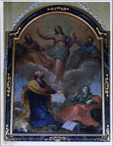 Tableau et son cadre : la Transfiguration