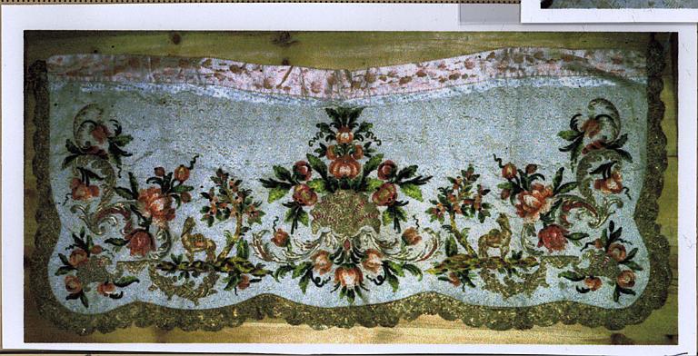 Élément de décor en tissu