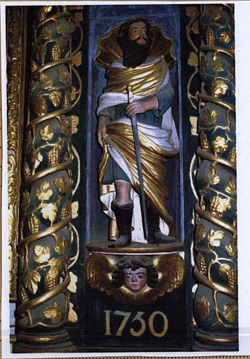 Statue du retable : saint Paul