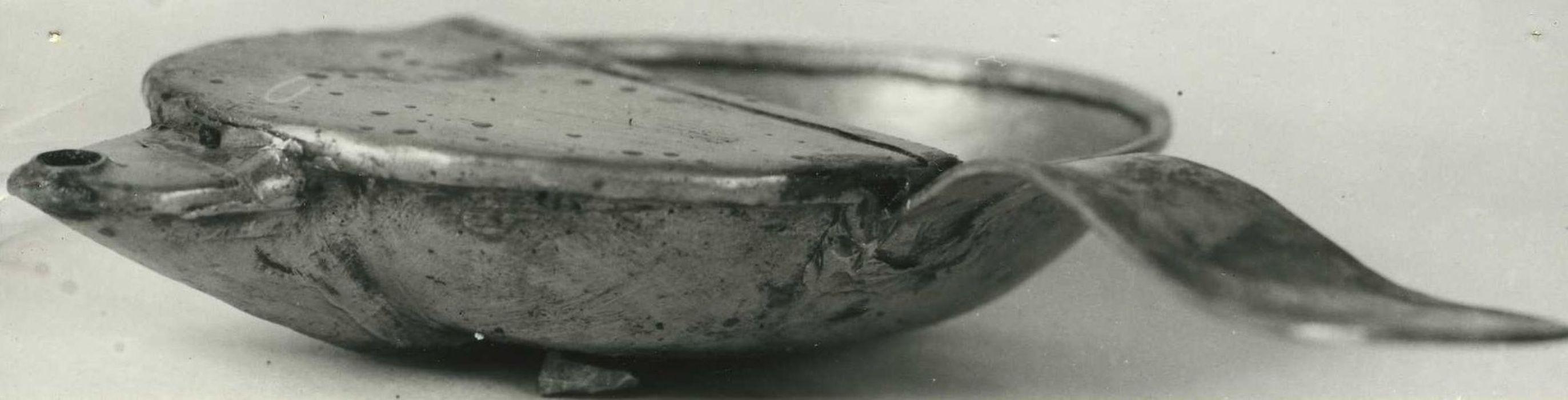 Vase pour l'administration du baptême