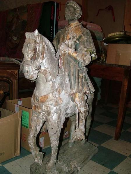 Statue équestre : saint Maurice