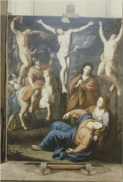 tableau : Crucifixion, vue générale