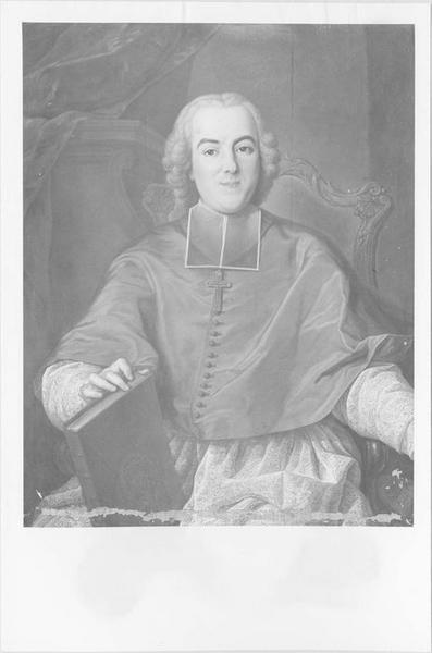 Tableau, cadre : monseigneur Fouquet archevêque d'Embrun