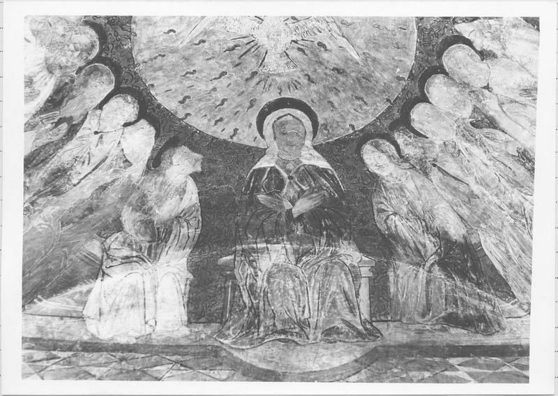 peinture monumentale : Pentecôte (la), vue générale