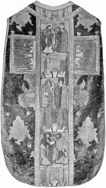 Chasuble aux armes de Rostaing d'Ancezune, archevêque d'Embrun