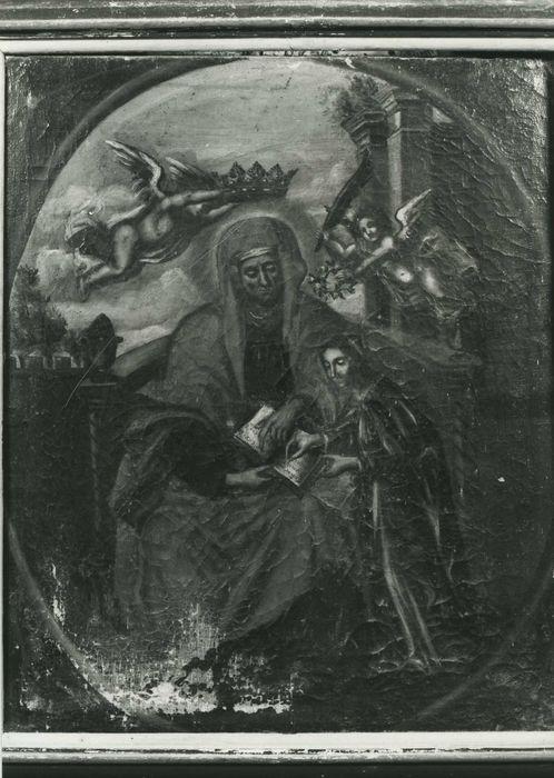 Tableau : sainte Anne et la Vierge ou l'Education de la Vierge
