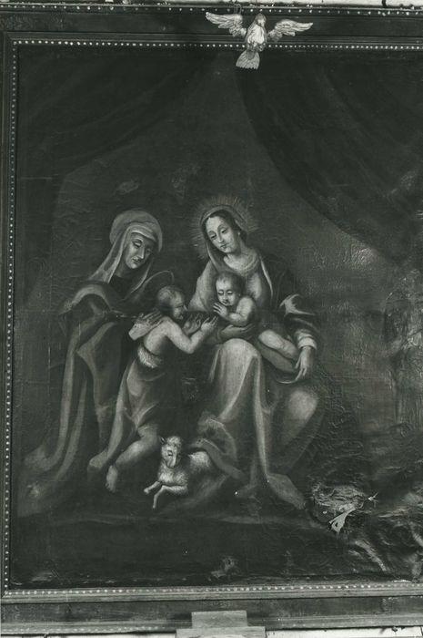 tableau : Vierge à l'Enfant avec saint Jean-Baptiste et sainte Elisabeth, vue générale