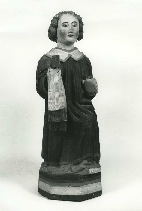 Statue (demi-nature) : diacre