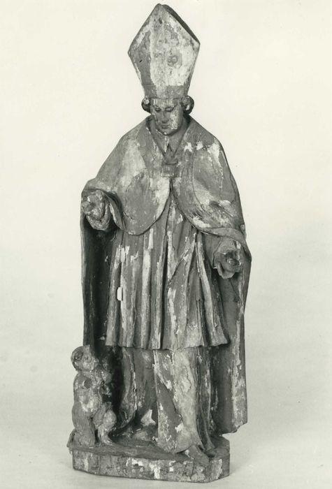 statuette : saint Nicolas, vue générale