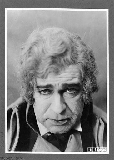 Portrait de Roger Karl dans 'L'affaire du courrier de Lyon' de Léon Poirier (Gaumont)