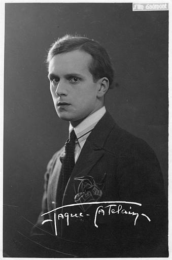 Portrait de Jaques Catelain (Gaumont)
