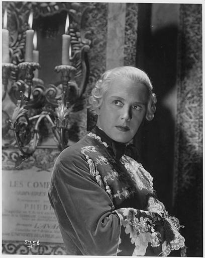 Portrait de Jaques Catelain déguisé en aristocrate  de l'Ancien Régime