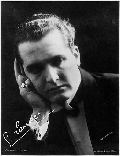 Portrait de Georges Lannes