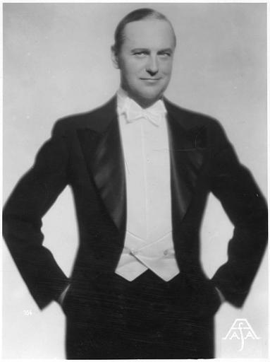 Portrait de Harry Liedtke (AFA)