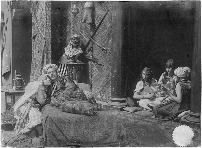 Pacha dans son harem
