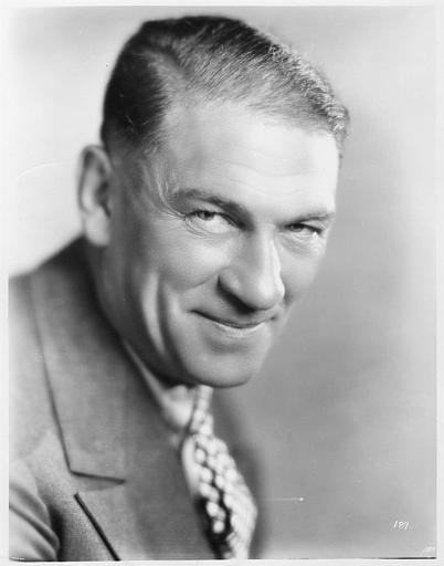 Portrait de Victor McLaglen (William Fox Production)