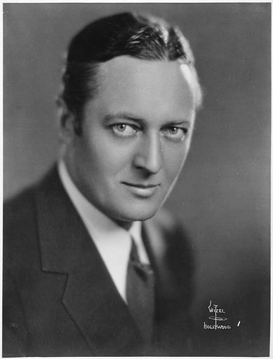 Portrait d'Edmund Lowe (William Fox Photoplay)