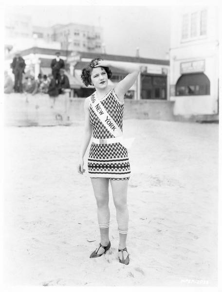 Portrait de Viola Dana en Miss New York