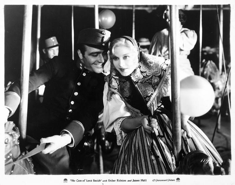 Lena Smith (E. Ralston) et Franz Hofrat (J. Hall)