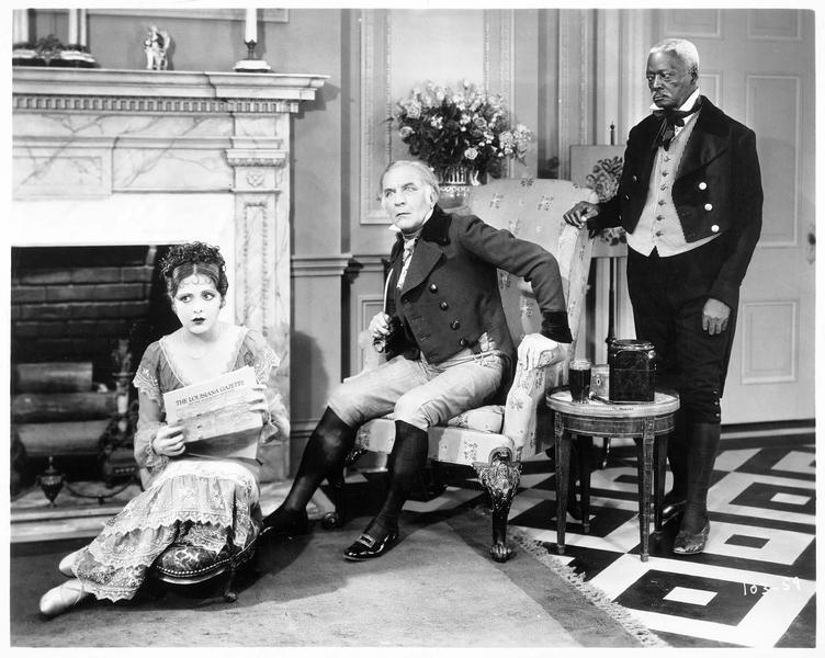 Le capitaine Remy annoncé par le domestique à Louis Frobelle (E. Chautard)
