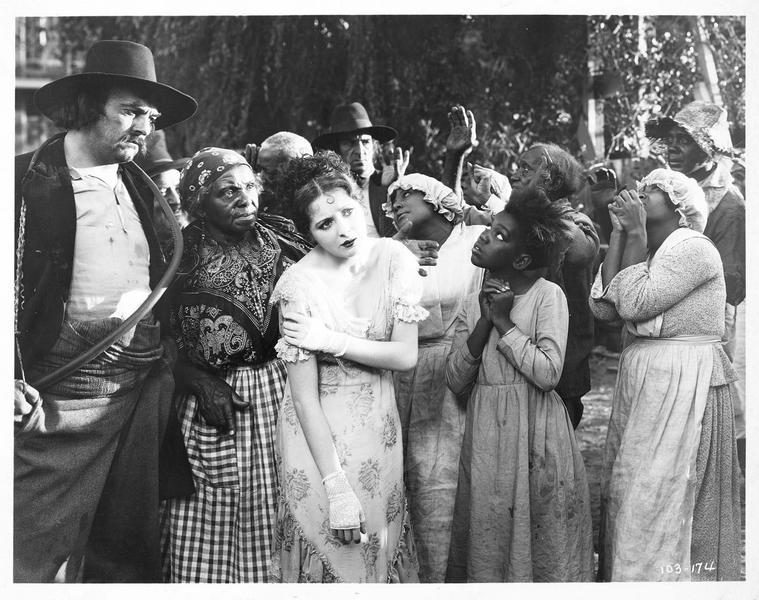 Antoinette Frobelle (B. Dove) emmenée à la vente aux enchères d'esclaves