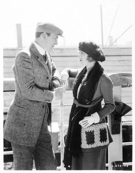 Dorothea Welter (G. Darmond) et Billy Kane (T. Meighan)