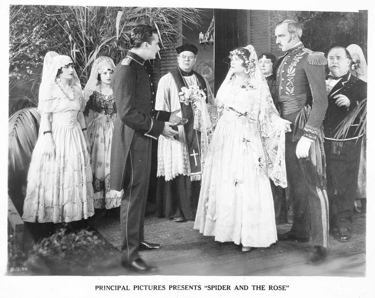 Le mariage de Paula (A. Lake) et de Don Fernando (F. Campeau)