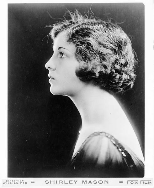 Portrait de Shirley Mason