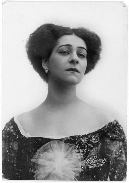 Portrait d'Alla Nazimova