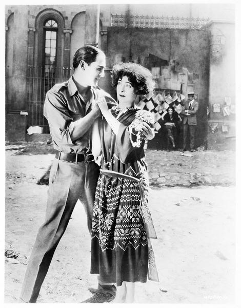 Alla Nazimova dans le rôle de Marguerite Gautier et Rex Ingram