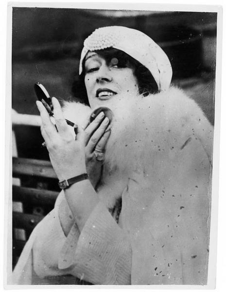 Portrait de Olga Petrova